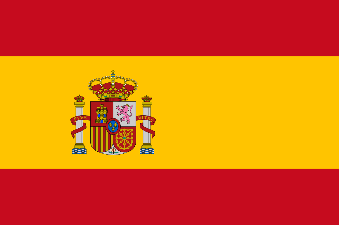 Spain flag - Spanish language